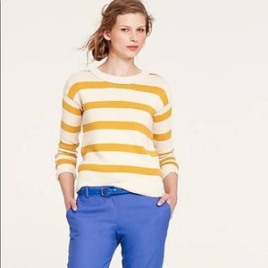 J. Crew Stripe-Breaker Sweater